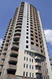 edificio Nuevo-erigido Imagen de archivo libre de regalías