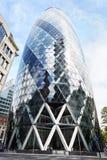 30 edificio o pepinillo del St Mary Axe en Londres Fotografía de archivo