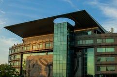 Edificio olímpico polaco de la sede del comité Fotografía de archivo libre de regalías