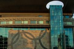 Edificio olímpico polaco de la sede del comité Imagen de archivo libre de regalías
