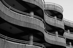 Edificio ondulado Fotografía de archivo libre de regalías