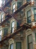 Edificio oxidado fotografía de archivo libre de regalías