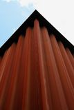Edificio oxidado Imágenes de archivo libres de regalías