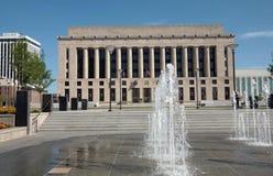 Edificio púbico del condado de Davidson fotografía de archivo libre de regalías