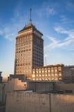 Edificio pacífico del sudoeste de Fresno Foto de archivo
