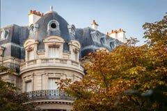 Edificio parisiense Foto de archivo