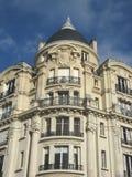 Edificio parisiense antiguo Foto de archivo libre de regalías