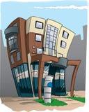 Edificio per uffici Immagine Stock