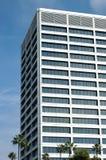 Edificio per uffici bianco Fotografia Stock Libera da Diritti