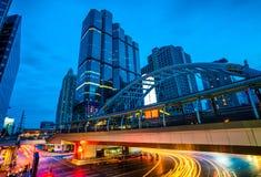 Edificio per uffici commerciale a Bangkok fotografie stock