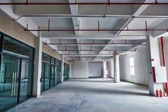 Edificio per uffici in costruzione Immagine Stock