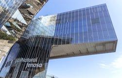 Edificio per uffici del fenosa di Gas Natural Fotografia Stock Libera da Diritti