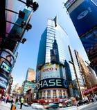 Edificio per uffici del Times Square Fotografia Stock Libera da Diritti