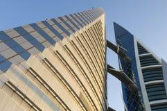 Edificio per uffici della Bahrain Fotografie Stock