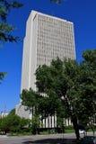 Edificio per uffici della chiesa Fotografie Stock Libere da Diritti