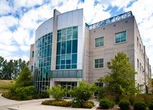 Edificio per uffici di alta tecnologia Fotografia Stock Libera da Diritti
