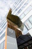 Edificio per uffici di Ericsson in Kista Fotografia Stock