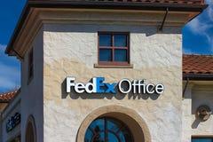 Edificio per uffici di Fedex. Immagine Stock