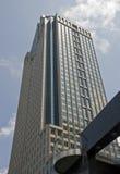 Edificio per uffici di palazzo multipiano a Montreal fotografia stock