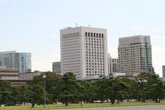 Edificio per uffici di Tokyo immagine stock