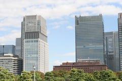 Edificio per uffici di Tokyo fotografia stock libera da diritti