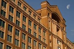 Edificio per uffici durante l'estate Fotografia Stock