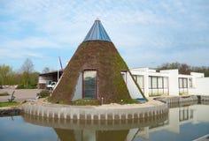 Edificio per uffici ecologico Fotografia Stock
