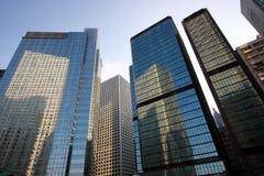 Edificio per uffici a Hong Kong Fotografie Stock