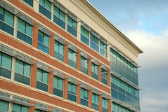 Edificio per uffici moderno 4 Fotografia Stock