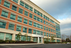 Edificio per uffici moderno 5 Fotografia Stock Libera da Diritti