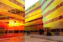 Edificio per uffici moderno in Almere Immagine Stock Libera da Diritti