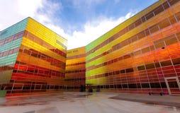 Edificio per uffici moderno in Almere Immagini Stock Libere da Diritti
