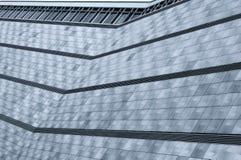 Edificio per uffici moderno con il rivestimento di alluminio Immagine Stock