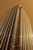 Edificio per uffici moderno dell'acciaio e di vetro Fotografia Stock Libera da Diritti