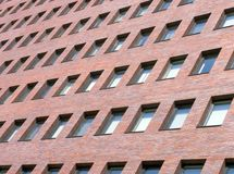 Edificio per uffici moderno dell'edificio per uffici fotografia stock libera da diritti