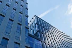 Edificio per uffici moderno di architettura Fotografia Stock