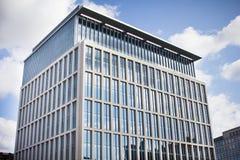 Edificio per uffici moderno Manchester centrale, Regno Unito Immagini Stock