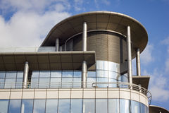 Edificio per uffici moderno, Manchester Regno Unito Immagini Stock