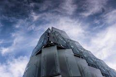 Edificio per uffici moderno a Parigi Fotografie Stock