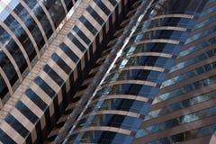 Edificio per uffici moderno - particolare architettonico fotografie stock