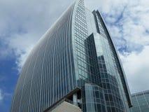 Edificio per uffici moderno Shanghai Fotografia Stock Libera da Diritti