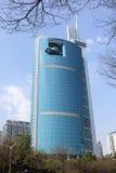 Edificio per uffici moderno a Shenzhen, Cina fotografie stock libere da diritti