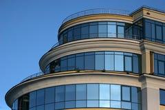 Edificio per uffici a Mosca, Russia Fotografie Stock