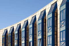 Edificio per uffici Multistory fotografia stock