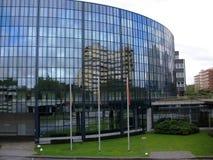 Edificio per uffici nel distretto aziendale Fotografia Stock Libera da Diritti
