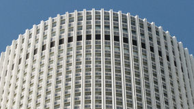 Edificio per uffici nel Giappone fotografie stock libere da diritti