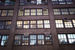 Edificio per uffici New York Immagini Stock Libere da Diritti