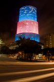 Edificio per uffici (notte) Fotografia Stock Libera da Diritti