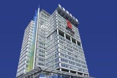 Edificio per uffici olimpico, Pechino, Cina Fotografia Stock