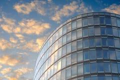 Edificio per uffici ovale a Bruxelles Fotografia Stock Libera da Diritti